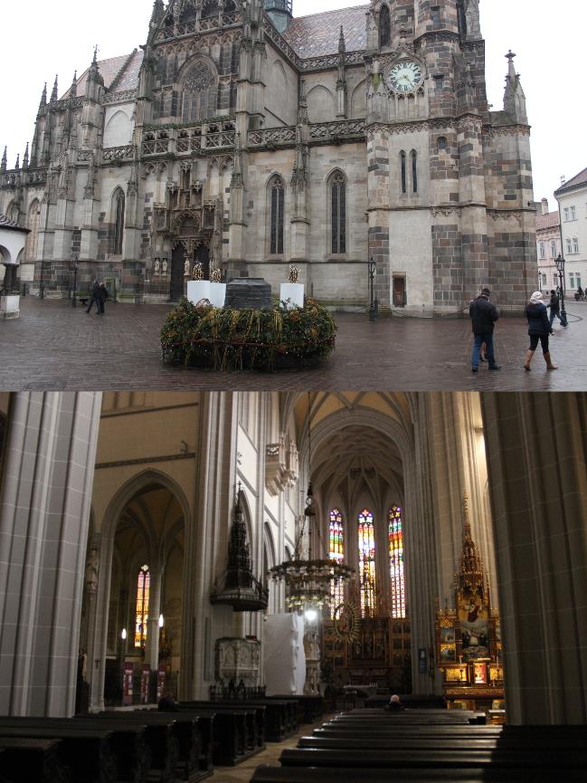 Die größte Kirche der Slowakei von innen und außen (ebenfalls nicht sonderlich groß)