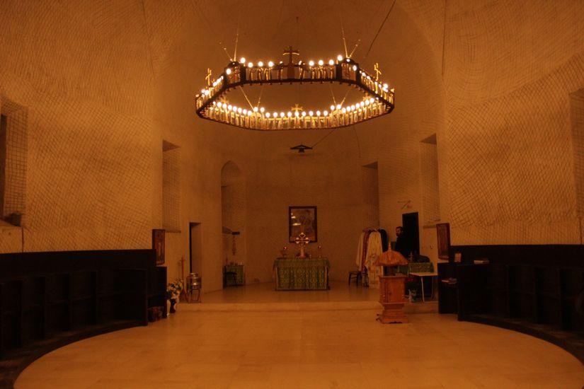 Die Kapelle von innen