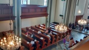 In der evangelischen Kirche von Puchov