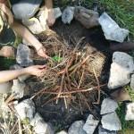 Ein Muss bei jedem Pfadi-Treff: Das Feuer